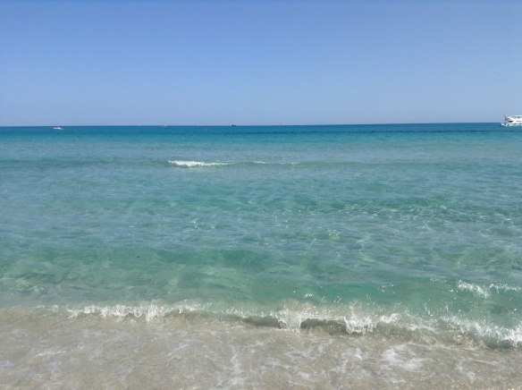 sardinian waters...