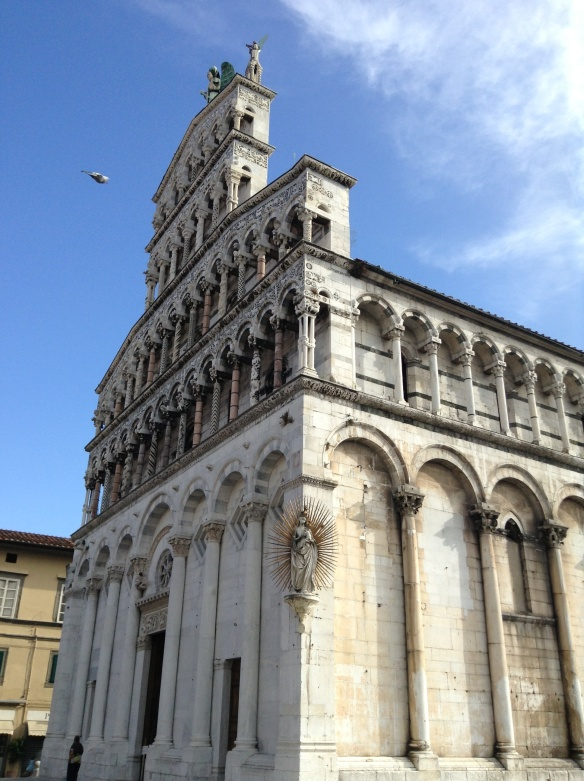 chiesa (church) san michele, lucca
