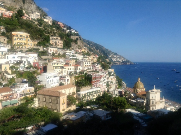 stunningly beautiful positano, on the amalfi coast
