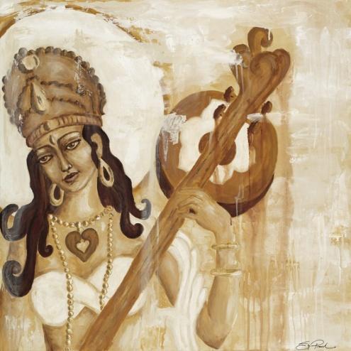 saraswati, sonja picard. http://www.sonjapicard.com