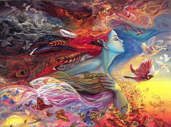 josephine wall, 'spirit of flight'