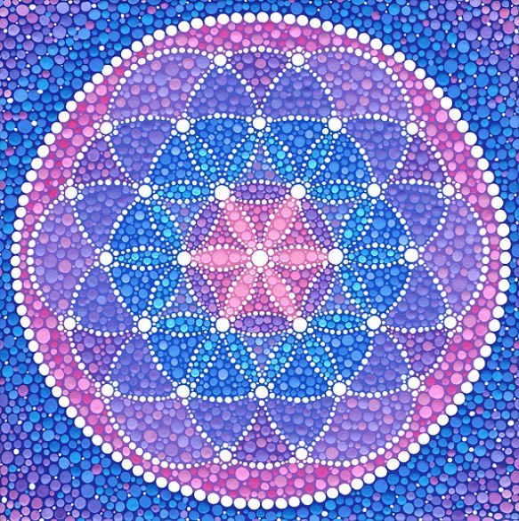 Starry Flower of Life, Elspeth McLean