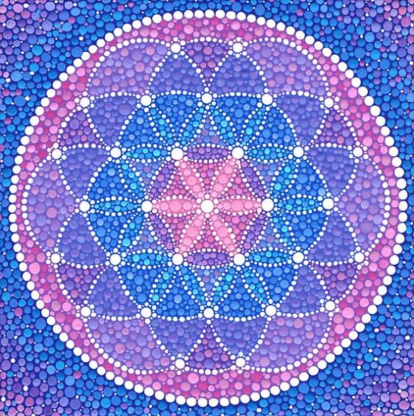 Starry Flower of Life, Elspeth McLean