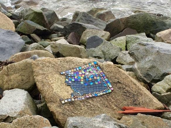 mosaic rock