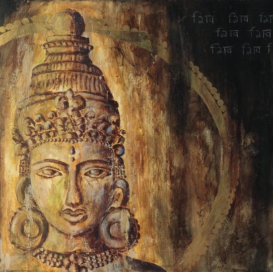 Gold Parvati. Artst: Sonja Picard (www.sonjapicard.com)