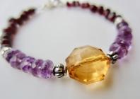 garnet amber amethyst