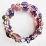 lilac wrap bracelet