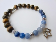 blue aventurine tiger eye
