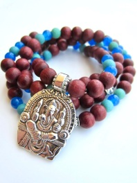 beaded ganesha