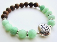 mint green sandalwood lotus