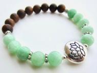 mint green sandalwood lotus